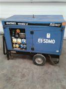 SDMO silent 10kva diesel generator
