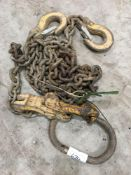 Two point lifting chain