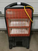 Rhino 2 bar heater 110v 32 amp