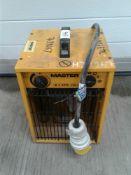 Master portable heater 110 V 32amp