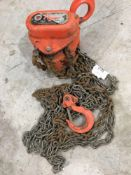 Tiger one ton single point chain hoist
