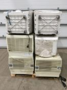 9 x Various coolers