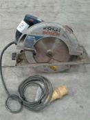 Bosch circular saw 110 V