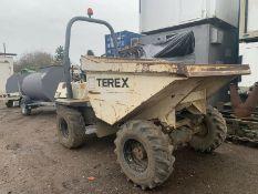 3 Tonne Terex Benford PT3000 Straight Tip Dumper
