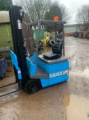 Jungheinrich Efg 516 Electric 3 wheel forklift