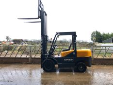 New/unused Powertek C35 Fork Lift