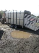 Ifor Williams Live Stock Trailer With Sheep Decks NO VAT