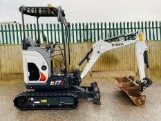 Bobcat E17 Excavator