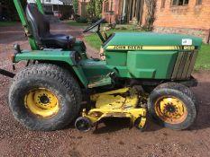 955 John Deere Compact Tractor