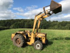 Mf 30E Loader Tractor With Bucket