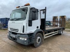 Iveco Eurocargo 18 Ton Plant Recovery Lorry