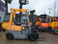 TCM FG15 N18 Petrol Forklift
