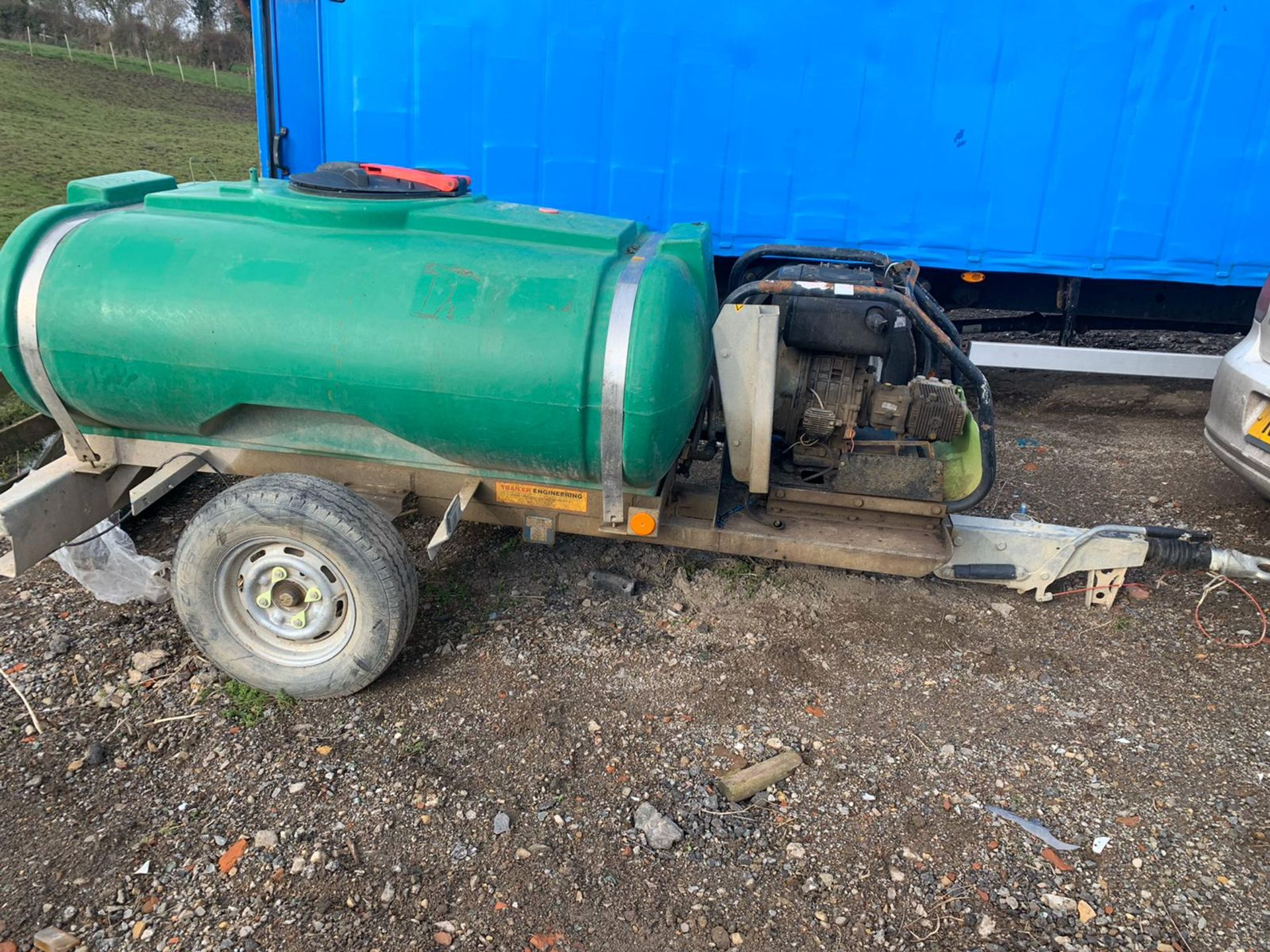 Lot 141 - Yanmar L100 Trailer Engineering Towable Diesel Pressure Washer