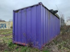 Anti Vandal Steel Storage Container
