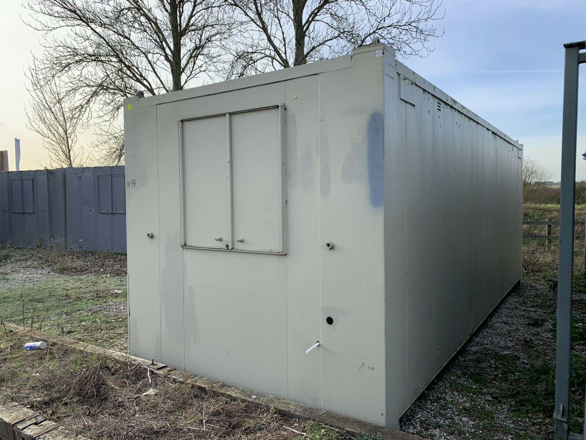 Lot 104 - Anti Vandal Steel Portable Office