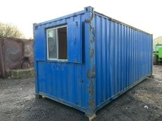 Anti Vandal Steel Portable Office