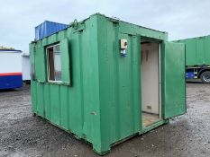 Anti Vandal Steel Portable Office.