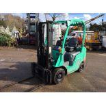 Mitsubishi FG18 LPG Forklift,