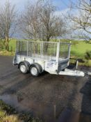 Ifor Williams Plant Trailer NO VAT