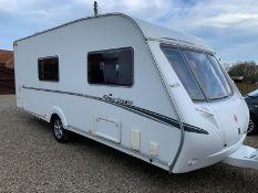Abbey Spectrum 416 4 Berth Caravan NO VAT