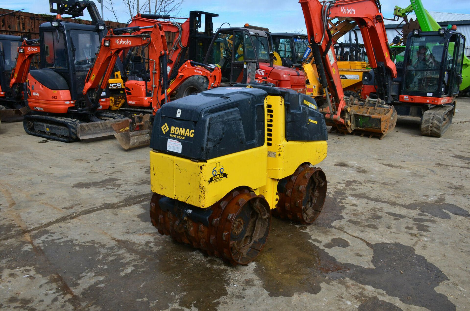 Lot 90 - Bomag BMP 8500 Multi-Purpose Compactor