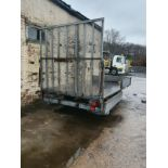 Indespension Drop Side Trailer With Rear Ramps NO VAT