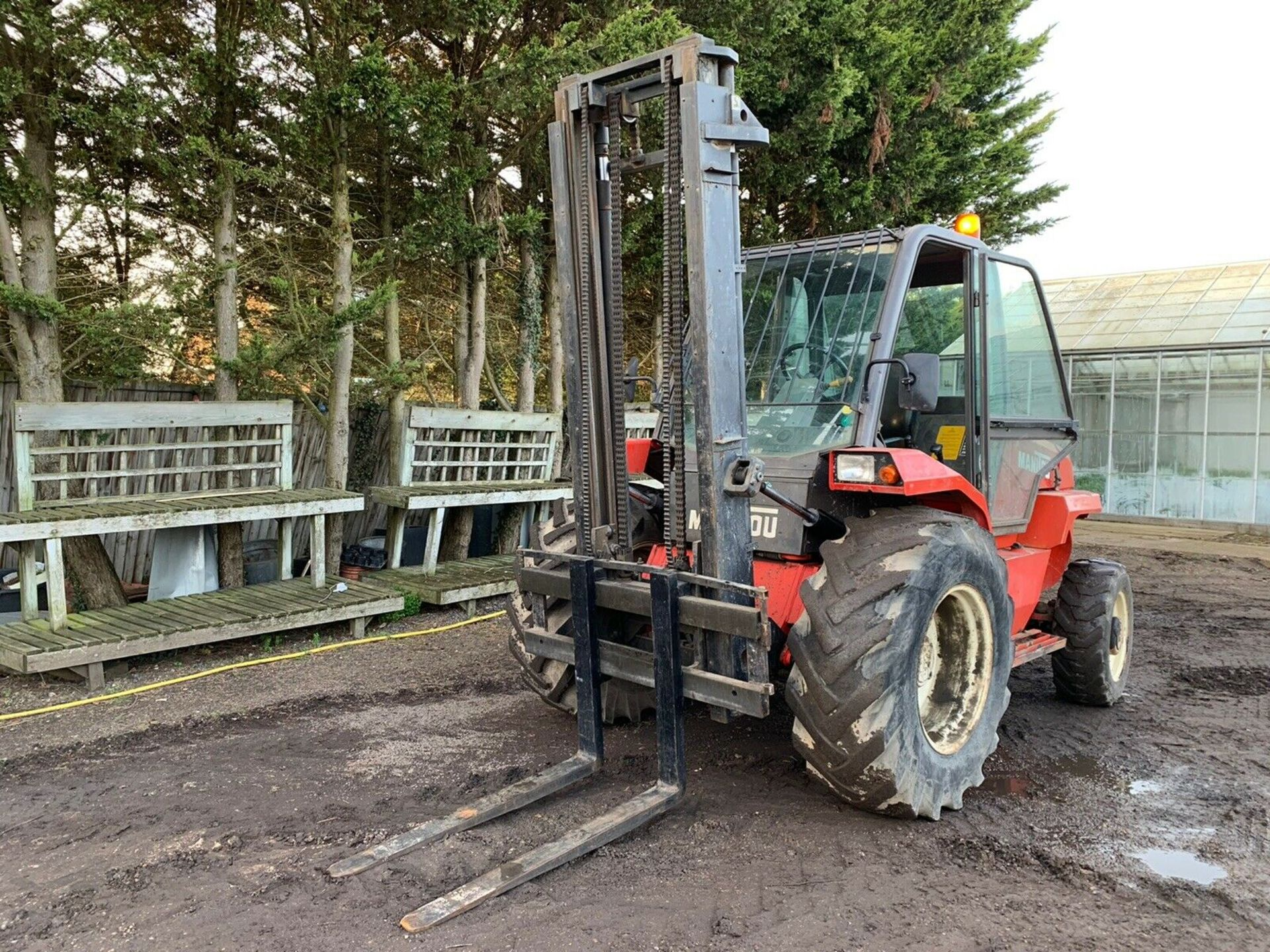 Lot 103 - Manitou M26-4 Rough Terrain Forklift Truck