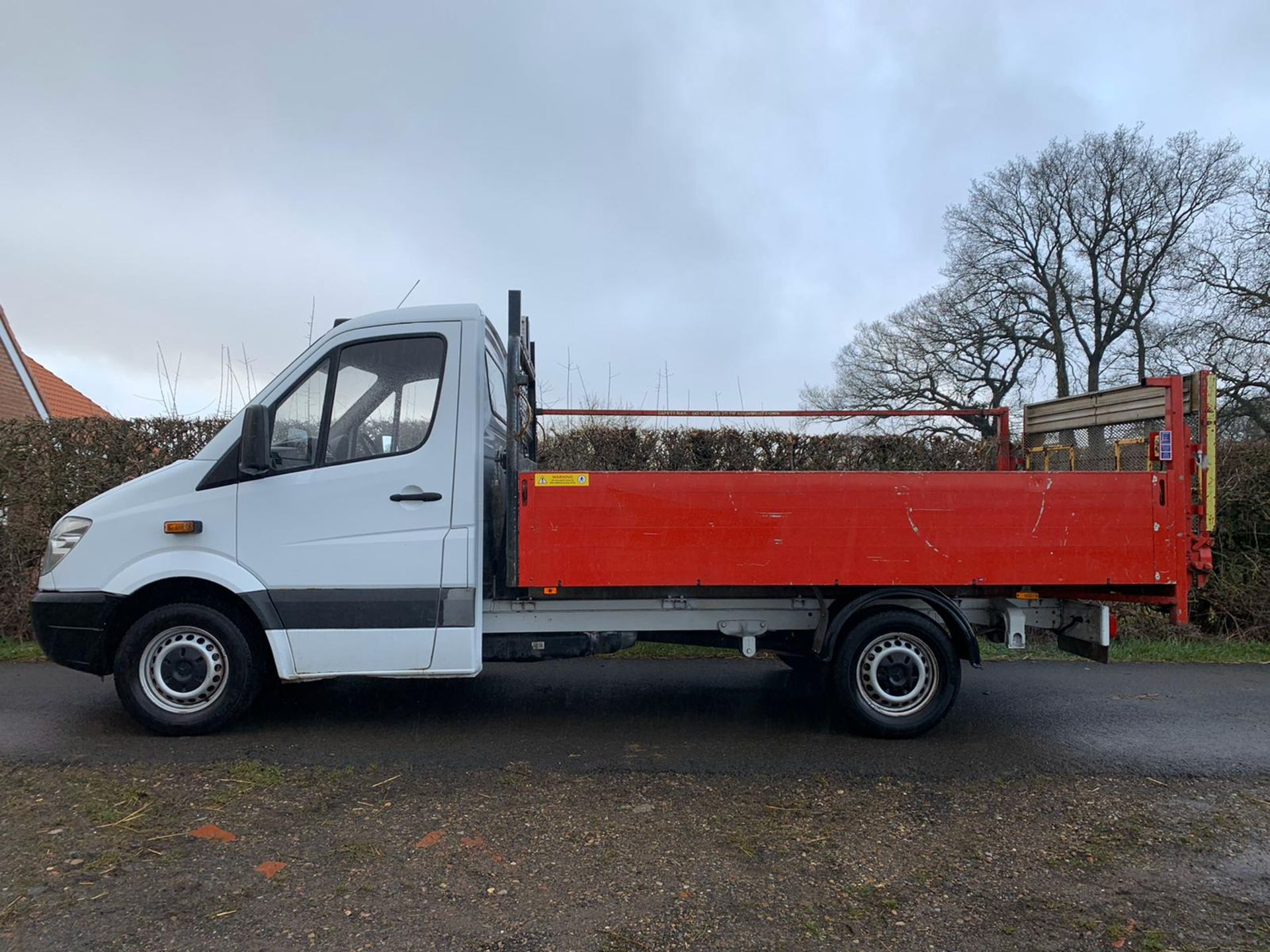 Lot 138 - Mercedes Sprinter 309CDI Pick Up Drop Side With Tail Lift