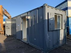 Anti Vandal Steel Portable Office / Storage / Canteen