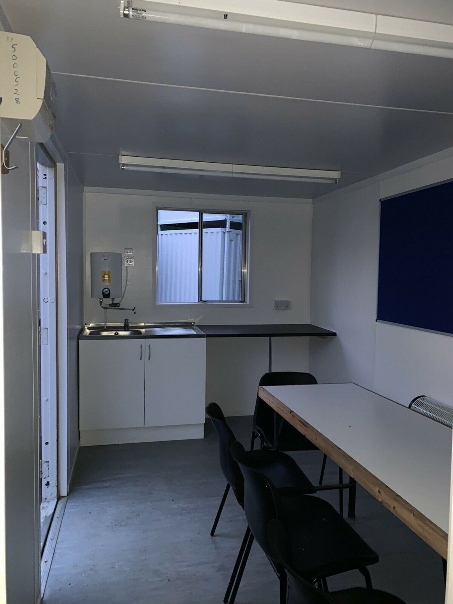 Lot 105 - Anti Vandal Steel Portable Office