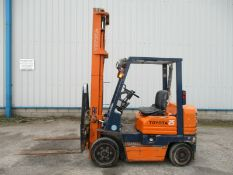 Toyota 5FDC25 Forklift