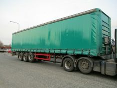 GT Fruehauf Curtain Side Trailer