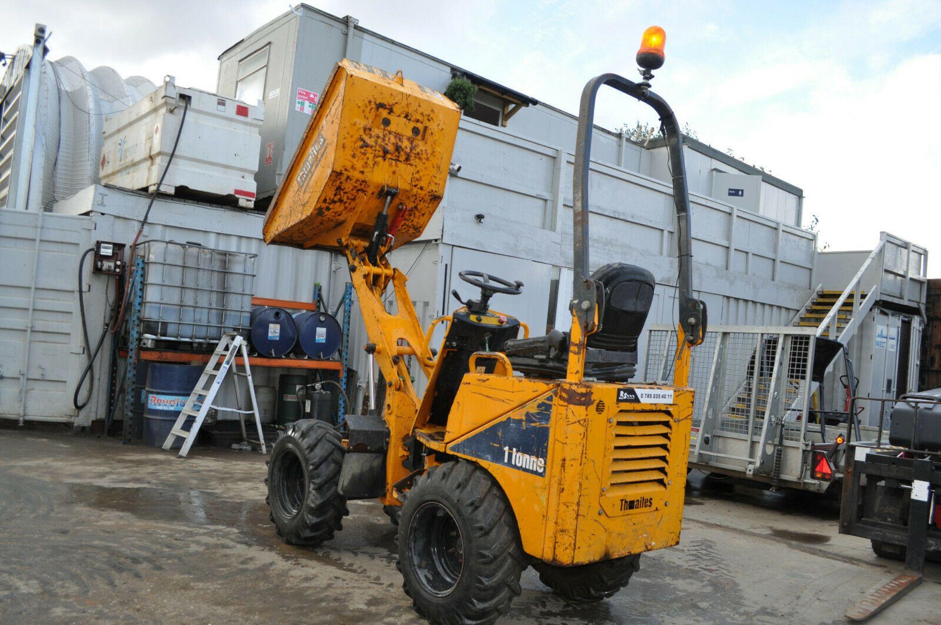 Lot 99 - Thwaites 1 Tonne High Tip Dumper