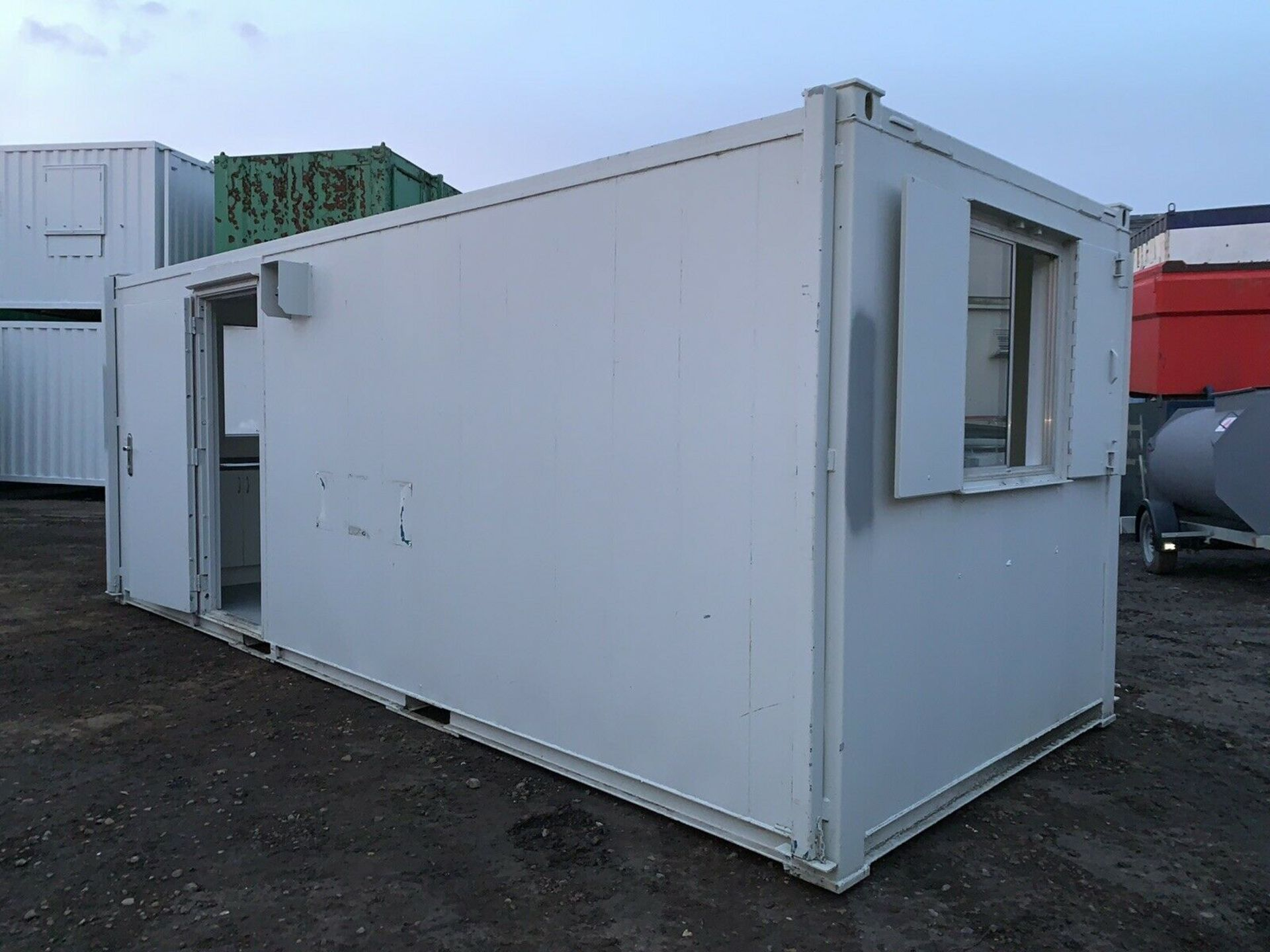 Lot 105 - Anti Vandal Steel Portable Office