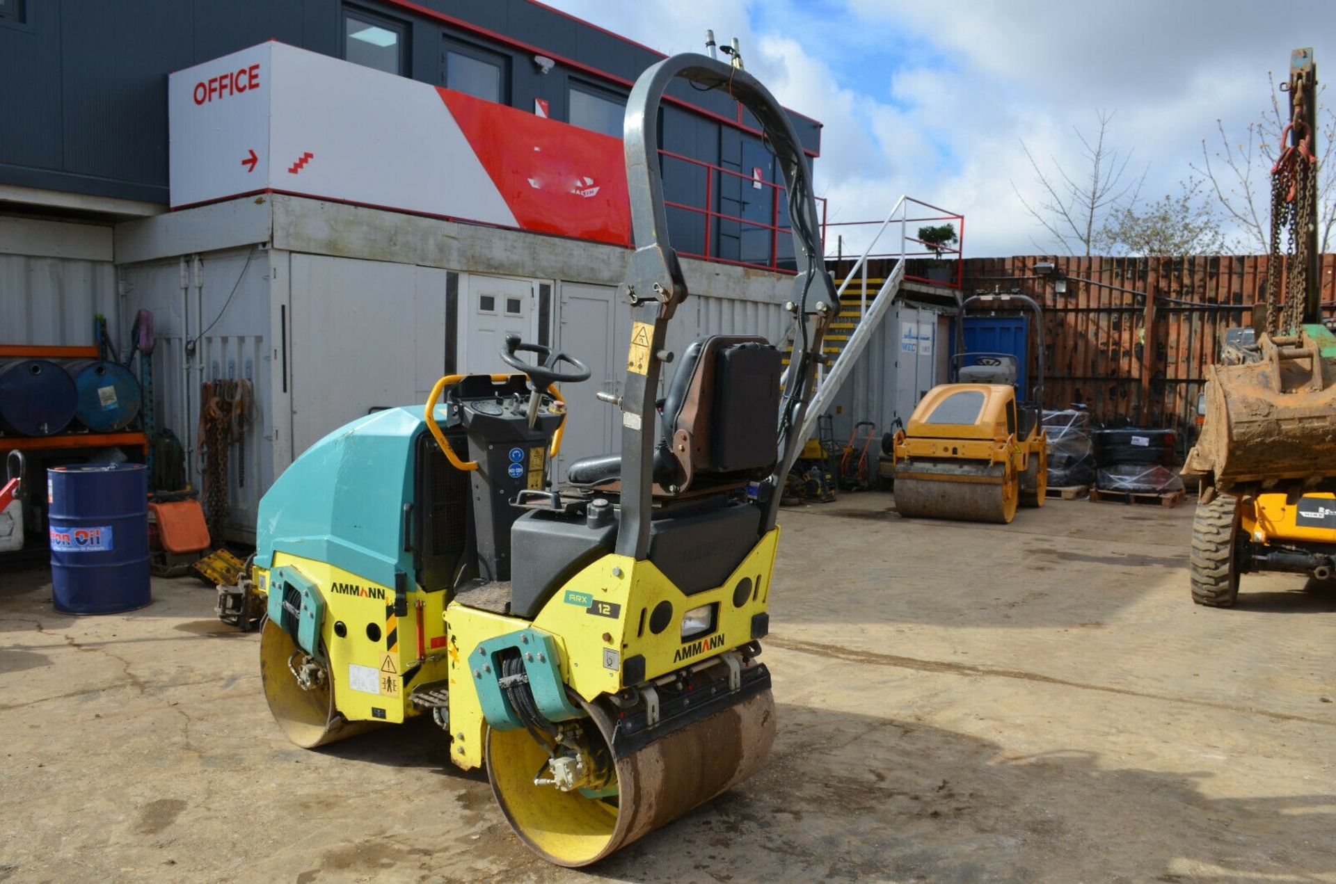 Lot 91 - Ammann ARX12 Double Drum Vibrating Roller