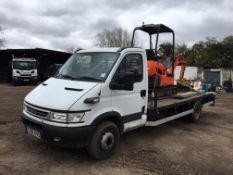Iveco 65C17 Beavertail Plant Lorry