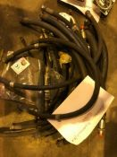Various Hydraulic and Air Hoses