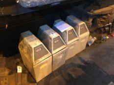 Four Times Litter bins from a mark 2 coach