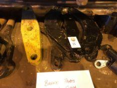 Brake Parts for a Mark 2 Coach
