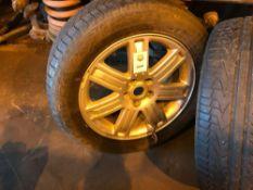Range Rover P38 19 inch wheels with part worn tires 255X 55X 19
