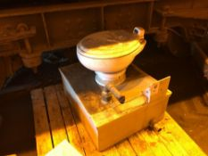Toilet assembly for a mark 2 coach