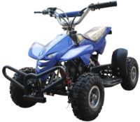 NEW BOXED 49CC QUAD BIKE IN BLUE
