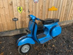 1970S VESPAS, QUAD BIKES, VW STOVES, QUADCOPTERS, TOOLS, STATUES, RACKING