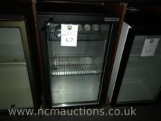 Autonnumis glass display fridge