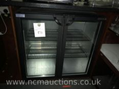Autonumis double glass display fridge
