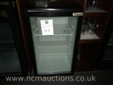 Carawell glass display fridge