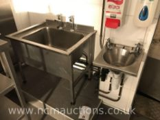 Sink unit and wash hand basin