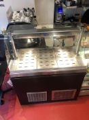 Victor Bevelled Glass Heated Food Display Unit