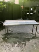 Metal Prep Table