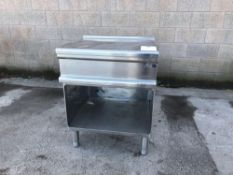 Electrolux stainless steel counter
